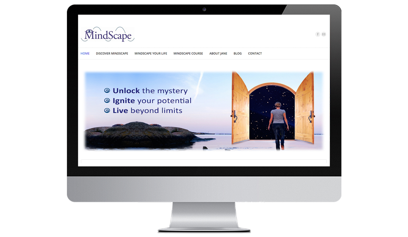 MindScape For Life Desktop Website