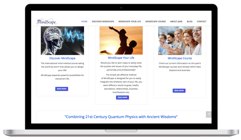 MindScape For Life Laptop Website