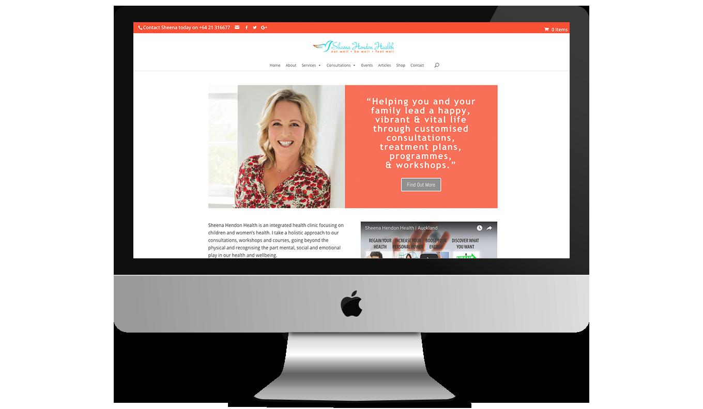 Wilderness Wellbeing Desktop Website