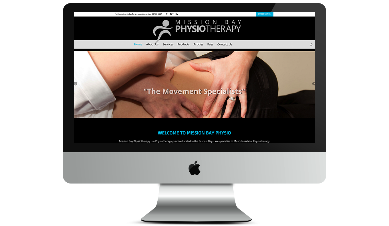 Maintain Massage Desktop Website
