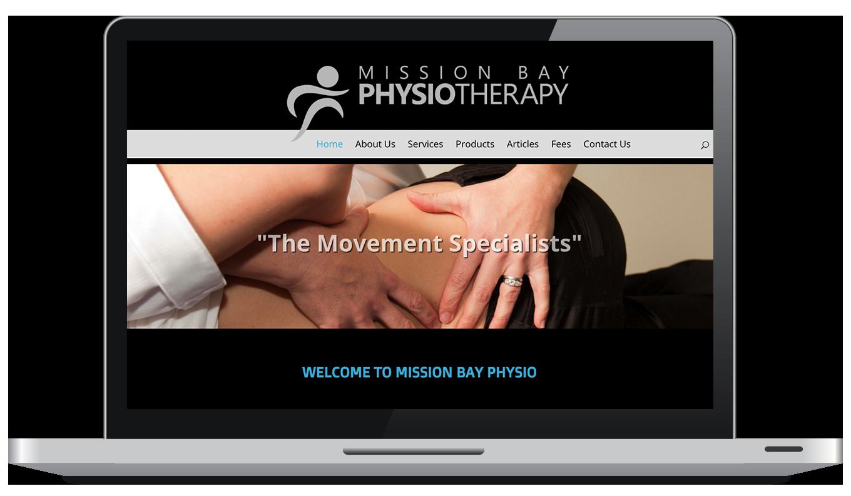 Maintain Massage Laptop Website