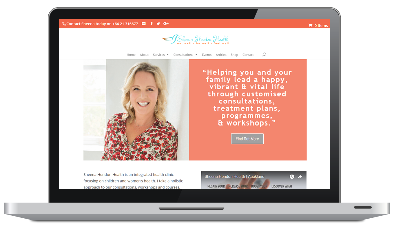 Wilderness Wellbeing Laptop Website